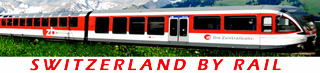 Switzerland By Rail Travel on Swiss Scenic Trains logo
